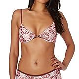 MINKPINK Spicey Underwire Bikini Top 8 Reg Red Tile