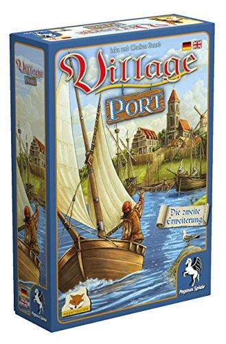 Pegasus Spiele 54513G - Village Port (Erweiterung) (eggertspiele) -