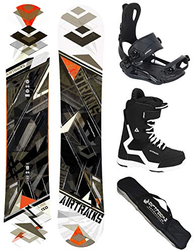 Airtracks snowboard set - tavola line wide 154 - attacchi master - softboots strong 43 - sb bag