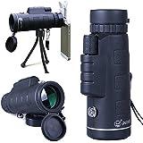 UrChoiceLtd® PANDA 35X50 Exterior HD Portátil Monoculares Lentes De Aumento Noche De Poca Luz Visión De Viaje Telescopio + Trípode Libre + Clip De Disparo