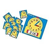 Learning Resources Set abwischbarer Uhren für das Klassenzimmer,