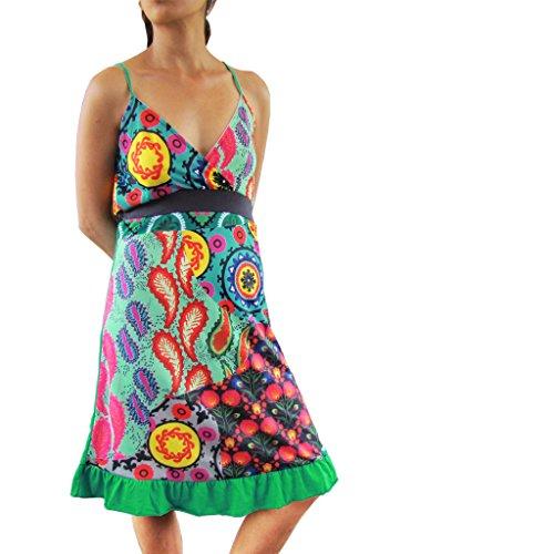 Costa Rica Kleid (Kleid, UGrSD296.001 in grün, L)