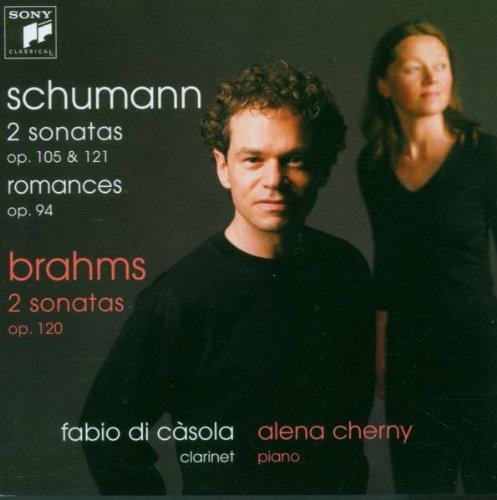 SCHUMANN - BRAHMS - Sonates pour clarinette et piano