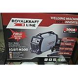 ROYALKRAF LINE 300 AMPERE royalkraf Line 300 Amperios Soldador Inverter con Cables 3 + 2 MT