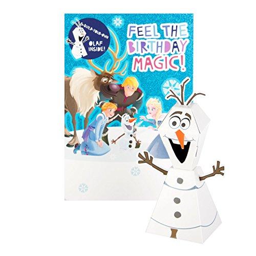 Hallmark 25491126Olaf 's Frozen Adventure Geburtstag Karte