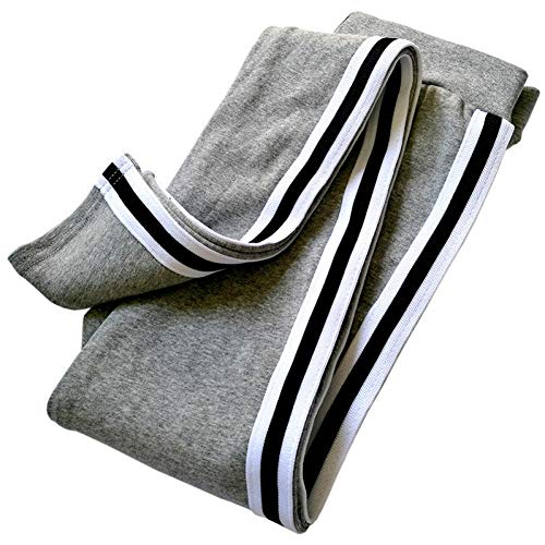 GJDHFJN Leggings algodón Rayas Laterales Mujer Pantalones