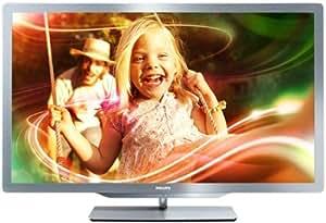 "Philips 32PFL7606H TV LCD 32"" LED HD TV 1080p 3D Ready 400 Hz PMR Smart TV 4 HDMI USB Ambilight"