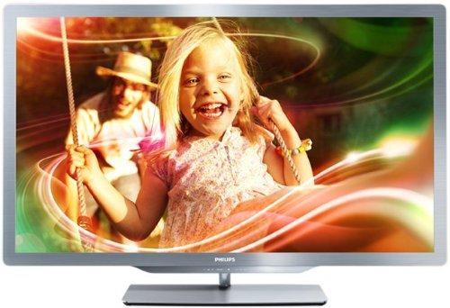 Philips 37PFL7606H/12 - Televisor LED Full HD de 37 pulgadas con 3D pasivo (Smart TV, 20W, USB grabador, 500.000:1) - 2 gafas incluídas