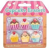 Tobar Cupcake gomme scuola novità regalo Set gomme borsa Filler bambini nuovo