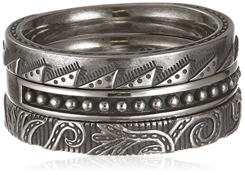 caï men Herren-Ring ROCKABILLY 925 Silber Gr. 56 (17.8) - C4170R/90/00/56
