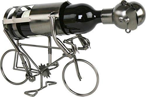 Flaschenhalter Radfahrer Weinflaschenhalter Weinständer Fahrrad Bike