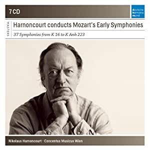 Nikolaus Harnoncourt Conducts Mozart Early Symphon