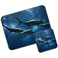 Pesci nel mare Premium Mousematt & sottobicchieri