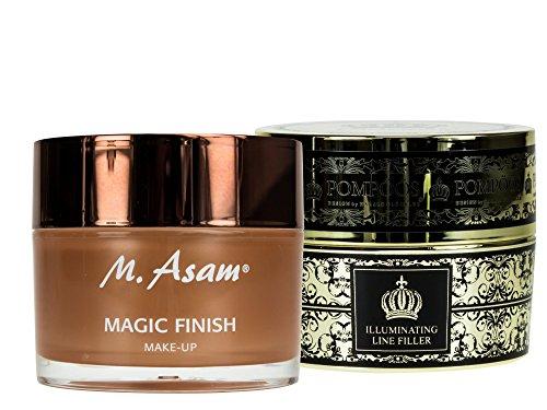 M. Asam Magic Finish 30ml + POMPÖÖS DESIGN by Harald Glöckler Pearly Illuminating Line Filler 30ml