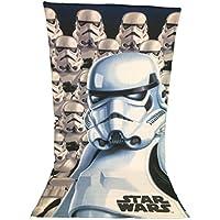 STARWAR Toalla de playa, toalla de playa microfibra – 70 x 140 cm – Star