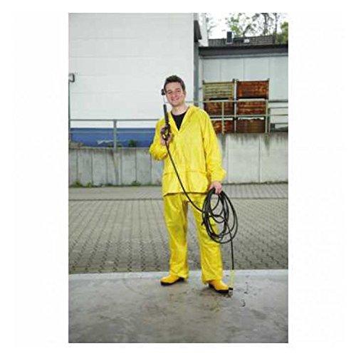 Asatex R-SET S 500 Regenset Jacke und Hose, Gelb, Größe S