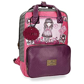 Gorjuss Sugar and Spice Mochila Tipo Casual, 40 cm, 15.08 litros, Morado