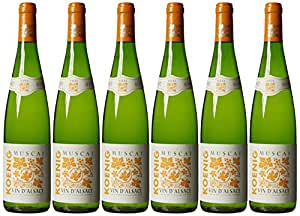 Koenig Muscat Vin D'alsace 2011 75 cl (Case of 6)