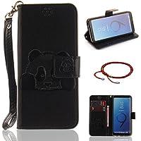GOCDLJ Schutzhülle für Samsung Galaxy S9 Design Panda PU Leder Flip Cover Tasche Ledertasche Handytasche Hülle... preisvergleich bei billige-tabletten.eu