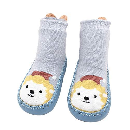 53b2c345b1df Chaussettes Antidérapantes Souple Coton pour Bébé Garçon Fille Motif  Animaux Bébé Naissance Cartoon Mignon Paire de