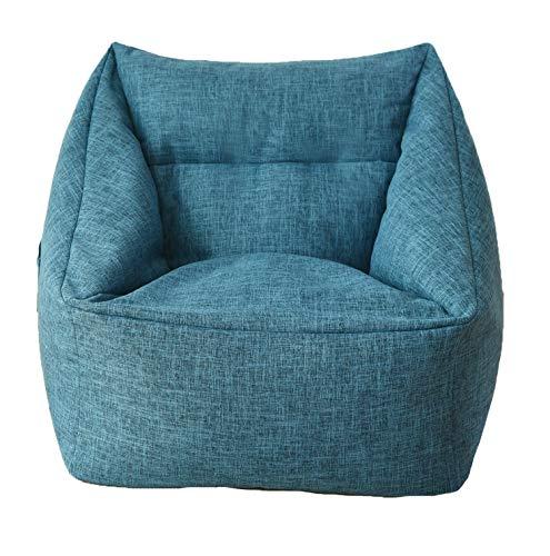 DMMASH Bohnenbeutel Sofa-Stühle Pouf Puff Leinentuch,Sofa (Puff Sofa)