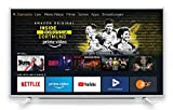 Grundig Vision 6 - Fire TV Edition (32 GFW 6060) 80 cm (32 Zoll) Fernseher (Full HD, Alexa-Sprachsteuerung, Magic Fidelity) weiß