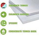 ITALFROM - Pannelli da 4 cm EPS 100 Polistirene Isolamento Termico Polistirolo (Confezione 10 Pezzi)