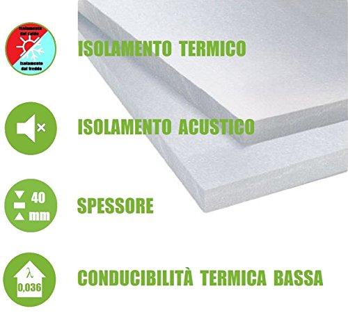 ITALFROM - Pannelli da 4 cm EPS 100 Polistirene Isolamento Termico...