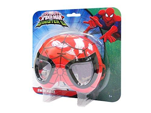 Marvel Spiderman 551305sp5-Natación máscara