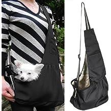 Bolsa de perro cachorro gato pequeño perro Pet Carrier bolso Transporte Capes L