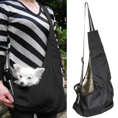 Kleine Hunde Welpen Katze Tasche Hundetasche Haustier Umhänge Tragetasche Transporttasche L