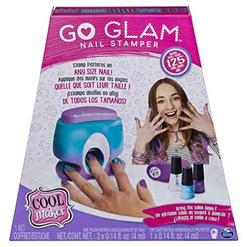 Cool Maker - 6046941 - Jouet Enfant - Loisirs Créatifs - Go Glam Nail Stamper avec Sacoche - Machine à Manucure