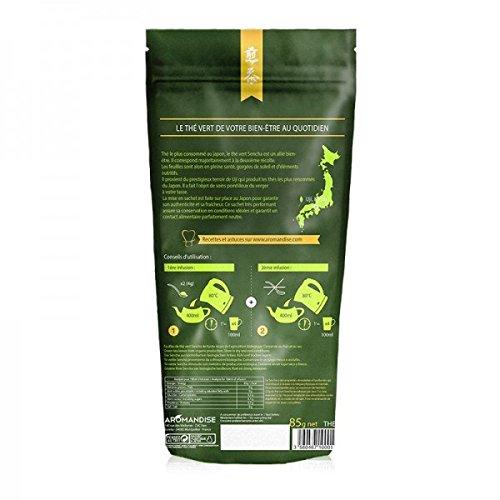Japanischer grüner Tee Bio Sencha 85 g