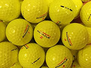 24 PINNACLE GOLD OPTIC YELLOW GOLF LAKE BALLS PEARL / GRADE A FREE DELIVERY