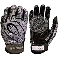 Spiderz RAW Adult Football Gloves Youth Large