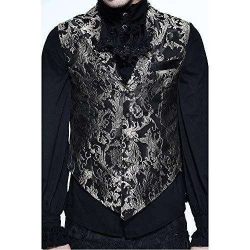 WCZ Dunkle Hochzeits-Show-Magische Partei-Weste, Weste der Chinesischen Art-Sleeveless Schweren - Chinesisch Lieferung Mann Kostüm
