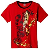 Mickey Boys' T-Shirt (MICOB0010_Red_9 - ...