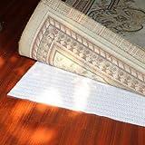 Art To Real - Alfombra antideslizante no adhesiva para estanterías, cajones y bajo colchones, sofás y sillas, pvc, 1' * 4'