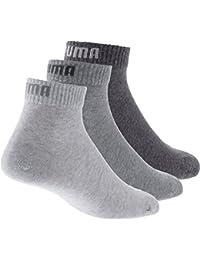 Puma Quarter - Chaussettes de sport - Lot de 3 - Homme