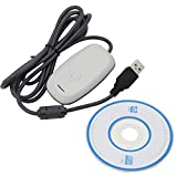 USB Wireless Gaming Receiver Adapter PC-Adapter für Xbox 360 Kontroller Konsolen Adapter weiß