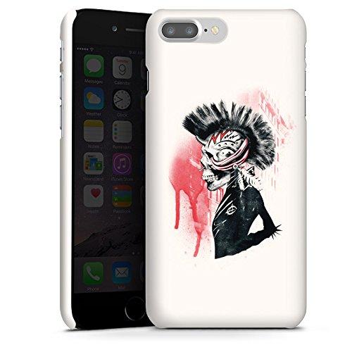 Apple iPhone X Silikon Hülle Case Schutzhülle Punk Totenkopf Skull Premium Case glänzend