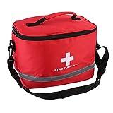 Detectoy Rotes Nylon-auffallendes Kreuz-Symbol High-Density-Ripstop-Sport-kampierendes Hauptmedizinisches Notüberlebens-Erste-Hilfe-Ausrüstungstasche draußen