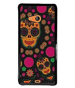 PrintVisa Amazing Monster High Gloss Designer Back Case Cover for Microsoft Lumia 540 Dual SIM