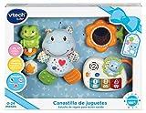 VTech - Canastilla de juguetes, estuche de regalo para bebé recién...