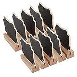 Baoblaze 10 Stück Kreidetafel Memotafel Tischtafel Mini Preis Namen Tafel
