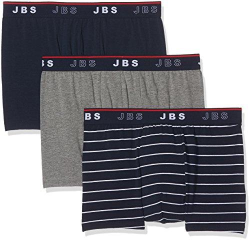 S.B.J Sportland Herren Boxershorts, 3er Pack Multicoloured (Multi)