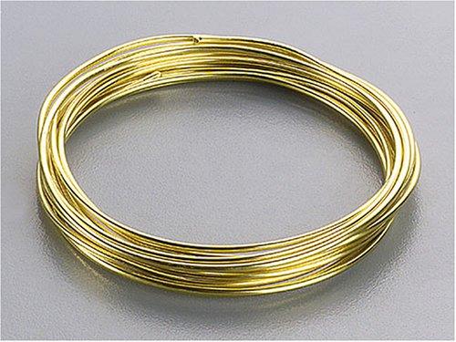 KnorrPrandell 6464300 Aluminiumdraht, 3 mm Durchmesser, vergoldet