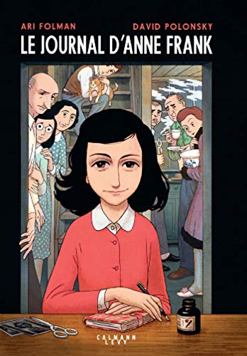 Le Journal d'Anne Frank - Roman graphique (Edition souple) par  Ari Folman, David Polonsky, Anne Frank