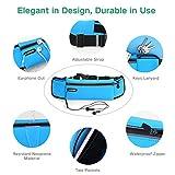 Hüfttasche UGREEN Sport Bauchtasche Handy Gürteltasche Wasserdicht Joggen Tasche Sweatproof Multi-funktion Case Holder für Handys bis zu 6