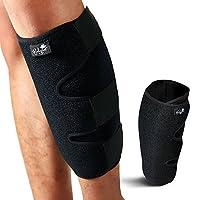 Calf Support Brace, Adjustable Shin Splint Compression Sleeve